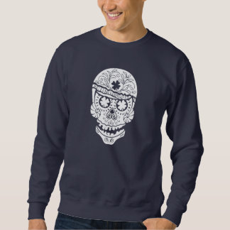 Hawaii Skull Pull Over Sweatshirt