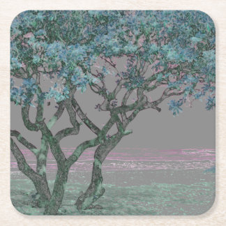 HAWAII SQUARE PAPER COASTER