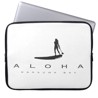 Hawaii Stand Up Paddling Laptop Sleeve