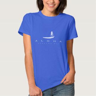 Hawaii Stand Up Paddling Tee Shirt