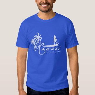 Hawaii Stand Up Paddling Tee Shirts