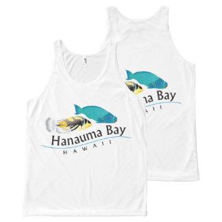 Hawaii State Fish - Humuhumunukunukuapua'a All-Over Print Tank Top