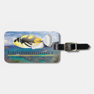 Hawaii State Fish - Humuhumunukunukuapua'a Bag Tag