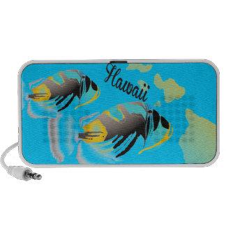 Hawaii State Fish - Humuhumunukunukuapua'a iPhone Speaker
