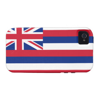 Hawaii State Flag Vibe iPhone 4 Cases