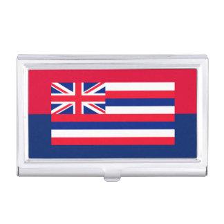 Hawaii State Flag Design Decor Business Card Holder
