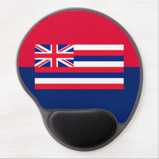 Hawaii State Flag Design Gel Mouse Pad