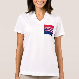 Hawaii State Flag Design Polo Shirts