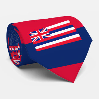 Hawaii State Flag Design Tie