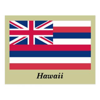 Hawaii State Flag Postcards