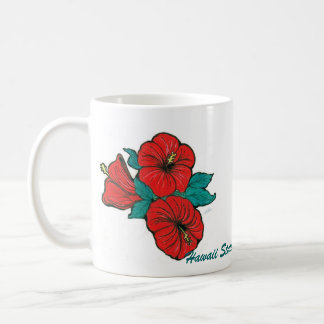 Hawaii State Flower, Hibiscus Mug