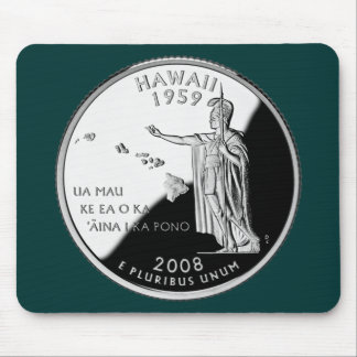 Hawaii State Quarter Mouse Pad