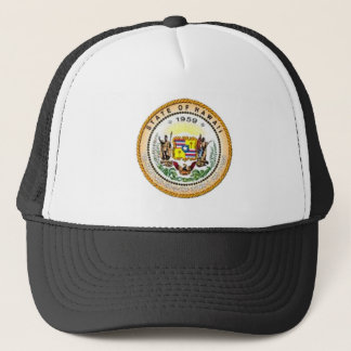 Hawaii State Seal Trucker Hat