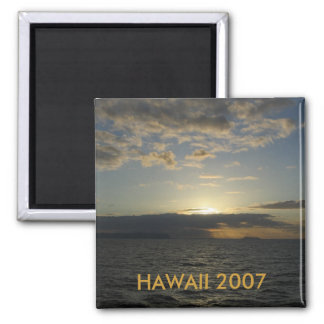 HAWAII SUNSET PRODUCTS SQUARE MAGNET