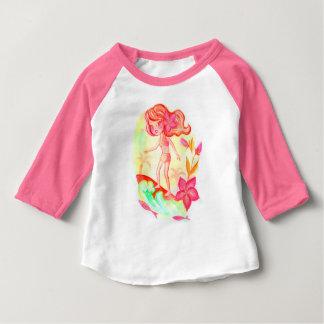 Hawaii surf little girl baby T-Shirt