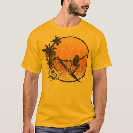 Hawaii Surfing Vintage T-Shirt