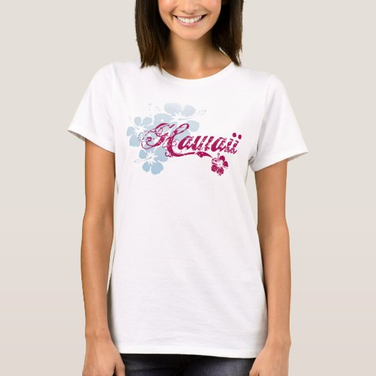 Hawaii T-Shirt | Colourful Hawaiian Flowers