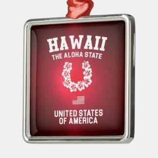 Hawaii The Aloha State Christmas Ornament