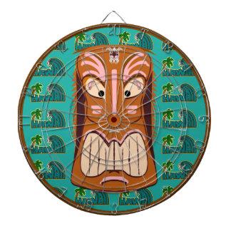 Hawaii Tiki Mask Dartboards