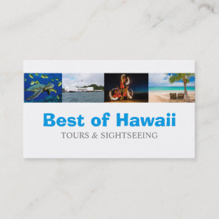 Hawaii travel business cards business card printing zazzle uk hawaii tourist coordinator travel agent business card reheart Gallery