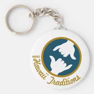 Hawaii Traditions Logo Keychain