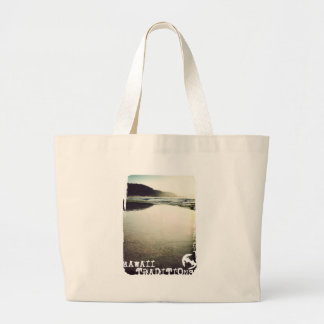 Hawaii Traditions, North Shore, Oahu Jumbo Tote Jumbo Tote Bag