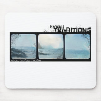 Hawaii Traditions Vintage Beach Photo Mousepad