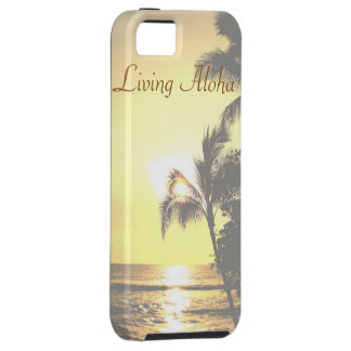 Hawaii Tropical Scene Living Aloha iPhone 5 Cover