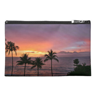 Hawaii Tropical Sunset on the Beach Travel Accessory Bags