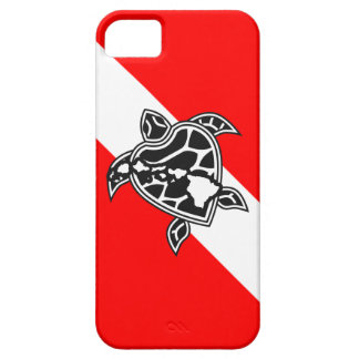 Hawaii Turtle Dive Flag Barely There iPhone 5 Case