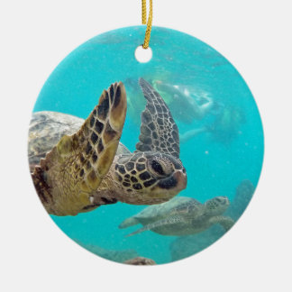 Hawaii Turtles Christmas Ornament