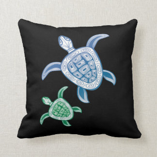 Hawaii Turtles Cushion