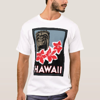 hawaii united states usa art deco retro travel T-Shirt