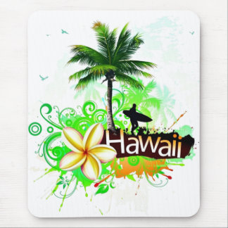 Hawaii Vacation Travel Souvenir Mouse Pad