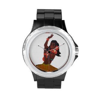 Hawaii Vinatge Hula Girl Wristwatches