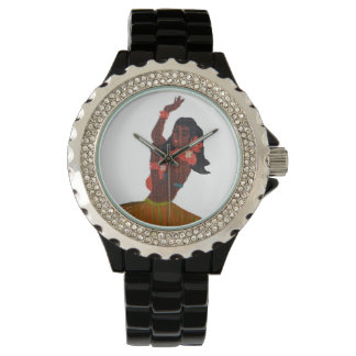 Hawaii Vinatge Hula Girl Wristwatches