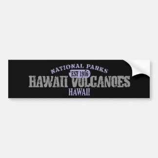 Hawaii Volcanoes National Park Bumper Sticker