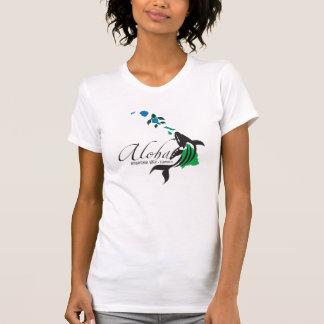 Hawaii Whale and Hawaii Islands 398 T-Shirt