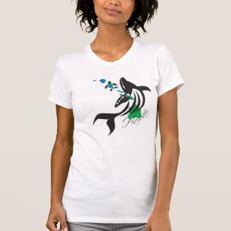 Hawaii Whale and Hawaii Islands 400 T-Shirt