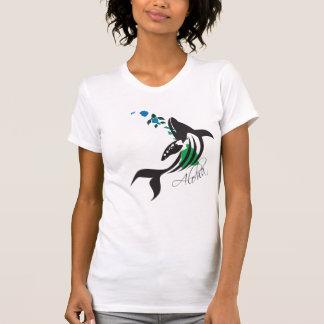 Hawaii Whale and Hawaii Islands 401 T-Shirt