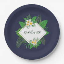 Hawaiian Aloha Luau Birthday Party Paper Plate