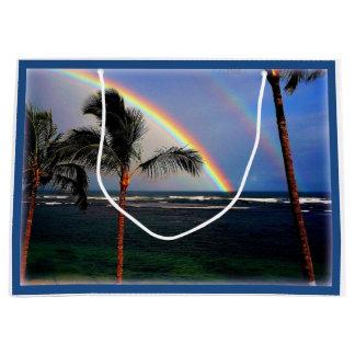 Hawaiian Beach Large Gift Bag