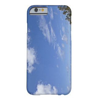 Hawaiian beach with palm trees. barely there iPhone 6 case