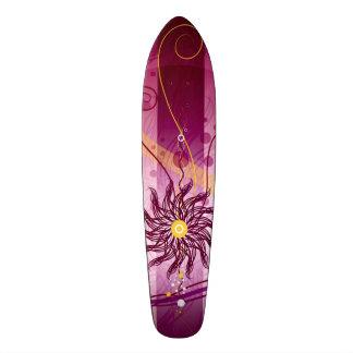 Hawaiian Bliss Flower Cruiser Custom Long Board Skateboard Deck