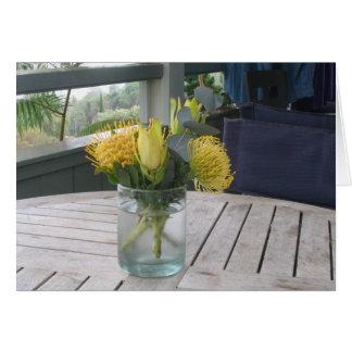 Hawaiian Bouquet Card