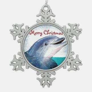 Hawaiian Christmas Dolphin ornament