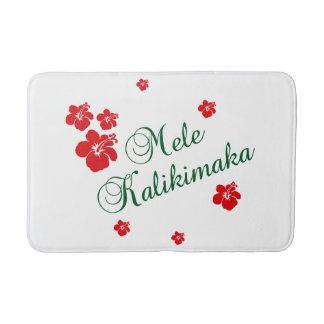 Hawaiian Christmas ~ Mele Kalikimaka Bath Mats