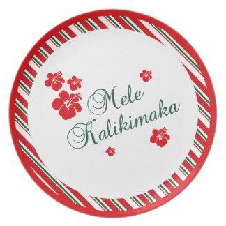 Hawaiian Christmas | Mele Kialikimaka Plates