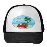 Hawaiian Christmas Mesh Hat