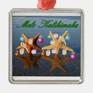 Hawaiian Christmas Ornament